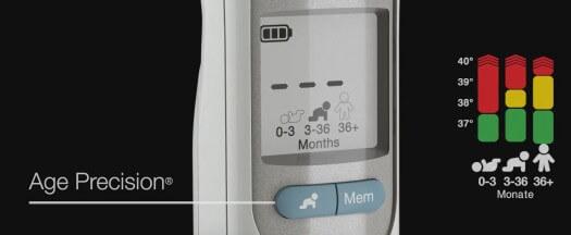 ThermoScan 7 Fieberanzeige